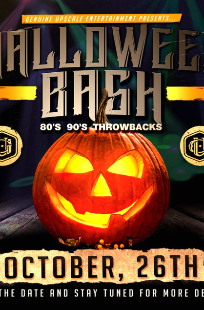 Halloween Bash 80's 90's Throwbacks - October 26th, 2019